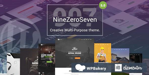 907 – Responsive Multi-Purpose WordPress Theme – v5.1.1