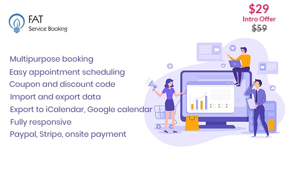 Fat Services Booking – Automated Booking and Online Scheduling v3.5