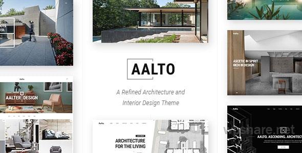 Aalto – Architecture and Interior Design Theme v1.6.1