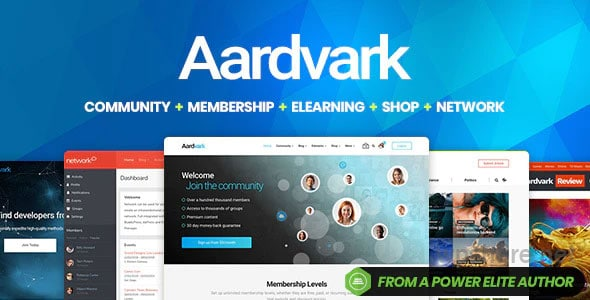 Aardvark – Community, Membership, BuddyPress Theme v4.30