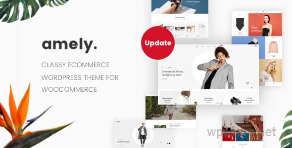 Amely v2.6.6 – Fashion Shop WordPress Theme for WooCommerce