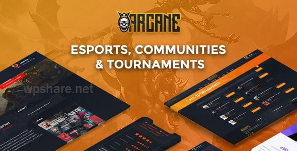 Arcane 3.6.2 – The Gaming Community Theme + Plugins