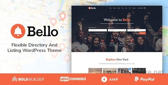 Bello – Directory & Listing v1.5.6
