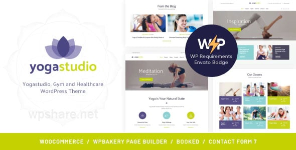 BeYoga | Yogastudio & Gym WordPress Theme v1.1.3