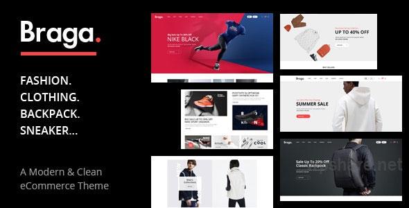 Braga v1.0.2 – Fashion Theme for WooCommerce WordPress
