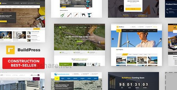 BuildPress – Multi-purpose Construction and Landscape WP Theme v5.6.3