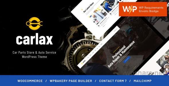 Carlax | Car Parts Store & Auto Service WordPress Theme v1.0.4