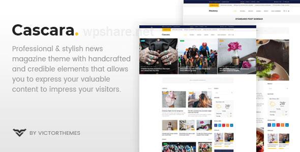 Cascara – Blog, News & Magazine WordPress Theme v1.7