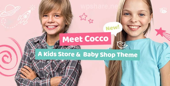 Cocco – Kids Store and Baby Shop Theme v1.7