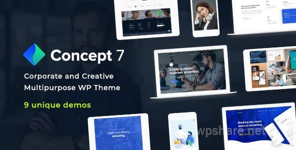 Concept Seven 1.11 – Responsive Multipurpose WordPress Theme