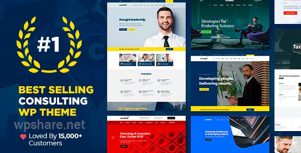 Consulting 6.1.1 – Business, Finance WordPress Theme