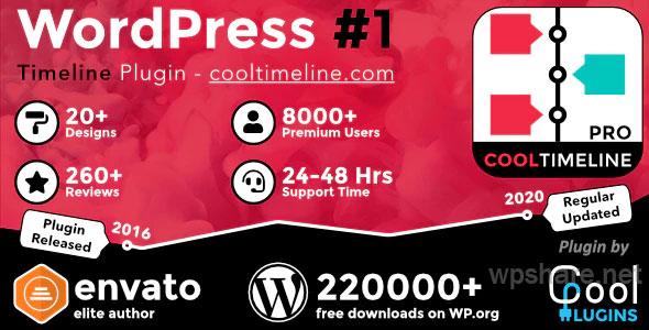 Cool Timeline Pro v3.5.2 – WordPress Timeline Plugin