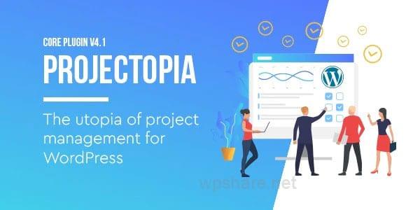 Projectopia – WordPress Project Management Plugin v4.3.10