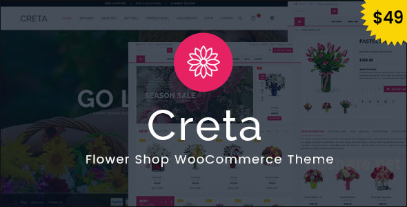 Creta v5.1 – Flower Shop WooCommerce WordPress Theme