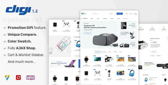 Digi 1.6.3 – Electronics Store WooCommerce Theme