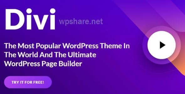 Divi – Elegantthemes Premium WordPress Theme v4.7.7