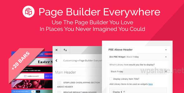 Divi Page Builder Everywhere v3.1.6