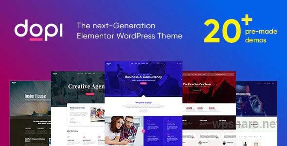 Dopi 1.2.3 – Elementor MultiPurpose WordPress Theme