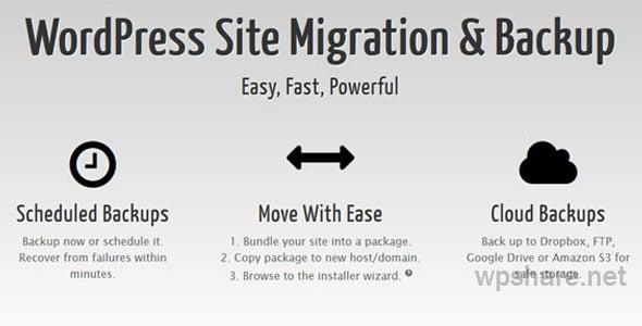 Duplicator Pro 4.0.5 – WordPress Site Migration & BackUp