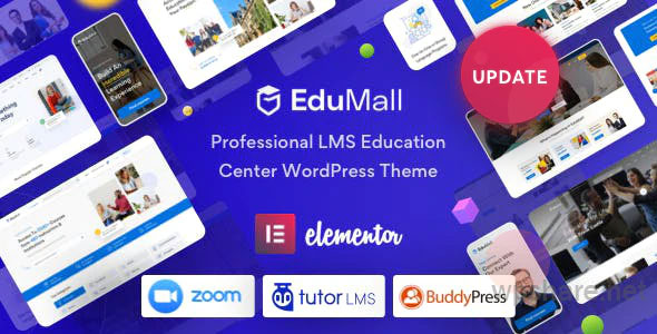 EduMall 2.6.2 – Professional LMS Education Center WordPress Theme