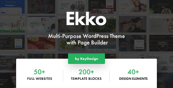 Ekko – Multi-Purpose WordPress Theme with Page Builder – v2.4