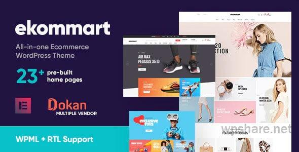 ekommart 3.6.0 – All-in-one eCommerce WordPress Theme