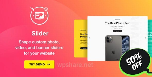 Slider – Image Slider WordPress v1.1.0