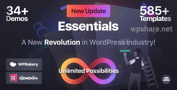 Essentials 2.0.4 – Multipurpose WordPress Theme
