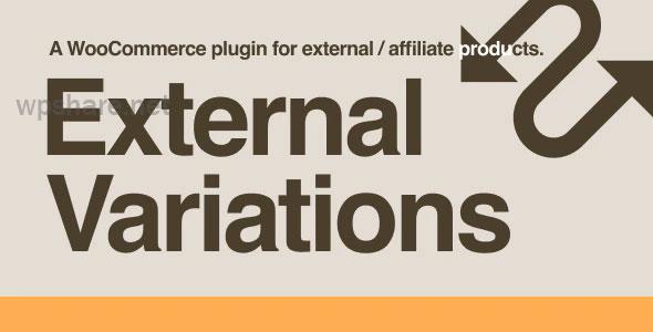 External Variations WooCommerce Plugin v1.0.3