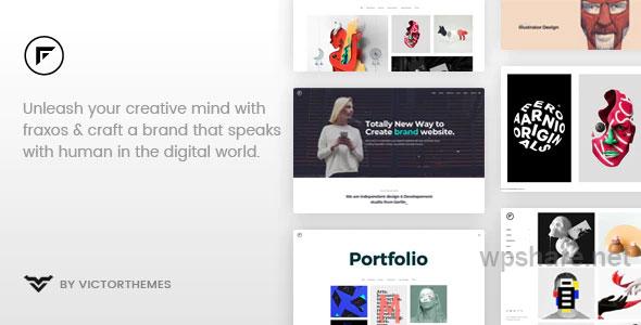 Fraxos 1.8.1 – Creative Portfolio WordPress Theme