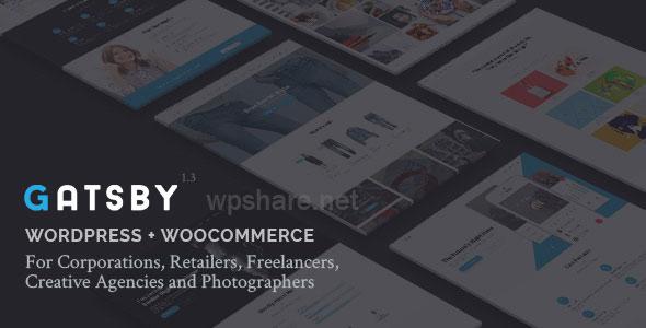 Gatsby – WordPress + eCommerce Theme v1.5