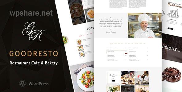 GoodResto – Restaurant WordPress Theme + Woocommerce V2.9