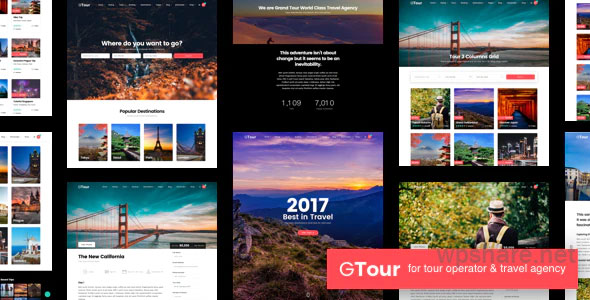 Grand Tour | Travel Agency WordPress v4.9.1