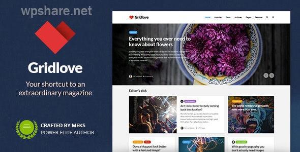 Gridlove – News Portal & Magazine WordPress Theme v1.9.8