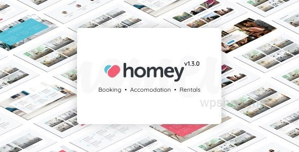 Homey 1.6.5 – Booking and Rentals WordPress Theme