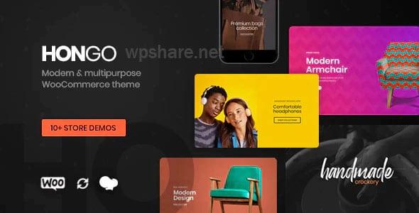 Hongo – Modern & Multipurpose WooCommerce WordPress Theme v1.1.8