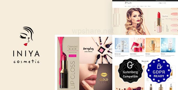 Iniya 2.3 – Beauty Store, Cosmetic Shop WordPress Theme