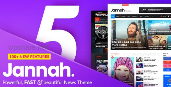 Jannah v5.2.0 – Newspaper Magazine News BuddyPress AMP