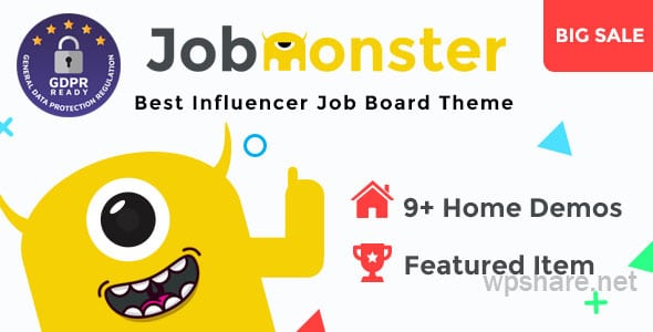 Jobmonster – Job Board WordPress Theme v4.6.7.3
