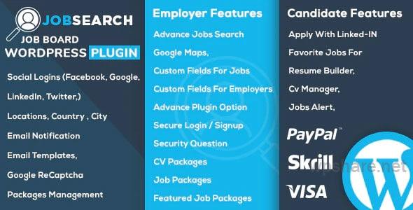 JobSearch 1.8.3 – WP Job Board WordPress Plugin