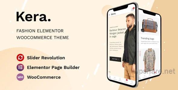 Kera 1.1.7 – Fashion Elementor WooCommerce Theme