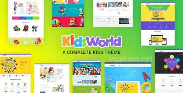 Children WordPress Theme – Kids Heaven v3.0