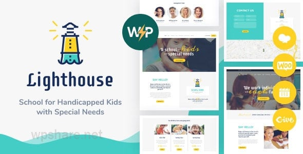 Lighthouse | School for Kids with Disabilities & Special Needs WordPress Theme v1.2.2