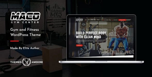 Maco | Gym and Fitness WordPress Theme v1.4