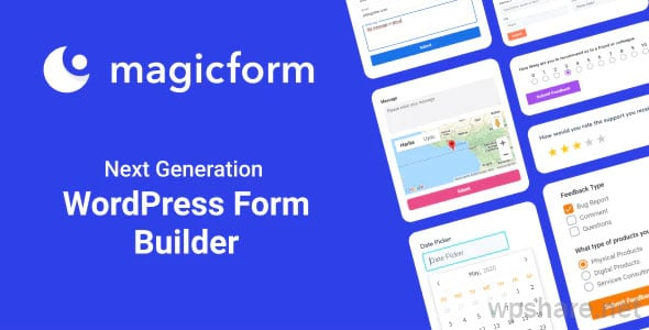 MagicForm v1.5.1 – WordPress Form Builder