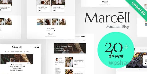 Marcell | 20+ Layouts Multi-Concept Personal Blog & Magazine WordPress Theme v1.2.3
