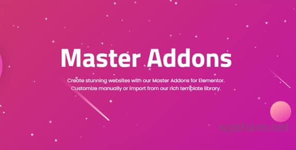 Master Addons for Elementor Pro v1.7.4