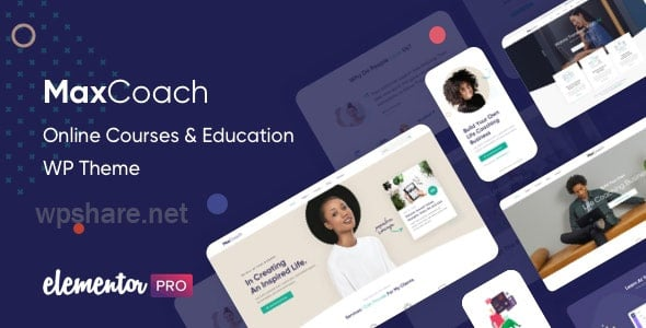 MaxCoach 2.3.2 – Online Courses & Education WP Theme