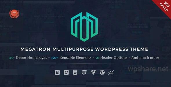 Megatron 3.8 – Responsive MultiPurpose WordPress Theme