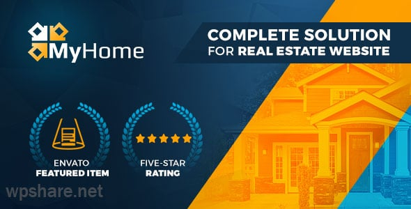 MyHome 3.1.56 –  Real Estate WordPress Theme